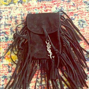 YSL Toy Anita mini fringe crossbody bag